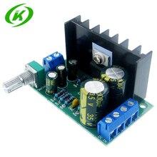Placa amplificadora de áudio tda2050, módulo de placa amplificadora de áudio mono dc/ac 12 24v 5w 120w 1 canal
