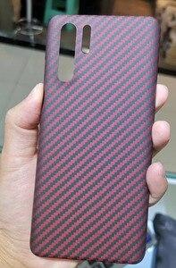 Image 4 - Cf Skin Carbon Fiber Telefoon Case Voor Huawei P30pro Huawei P30 Dun En Licht Attributen Aramidevezel Materiaal