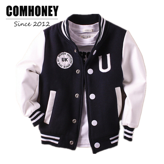 Aliexpress.com : Buy Boys Jacket Bomber Baseball Jacket for Baby ...