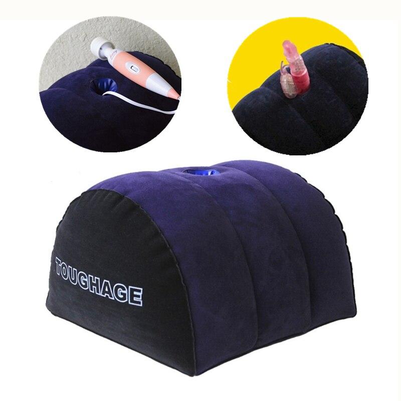 Надувная подушка для секс мебели, полукруглая Подушка с клиновидной фиксацией для секс игрушки для пар Мебель для секса      АлиЭкспресс