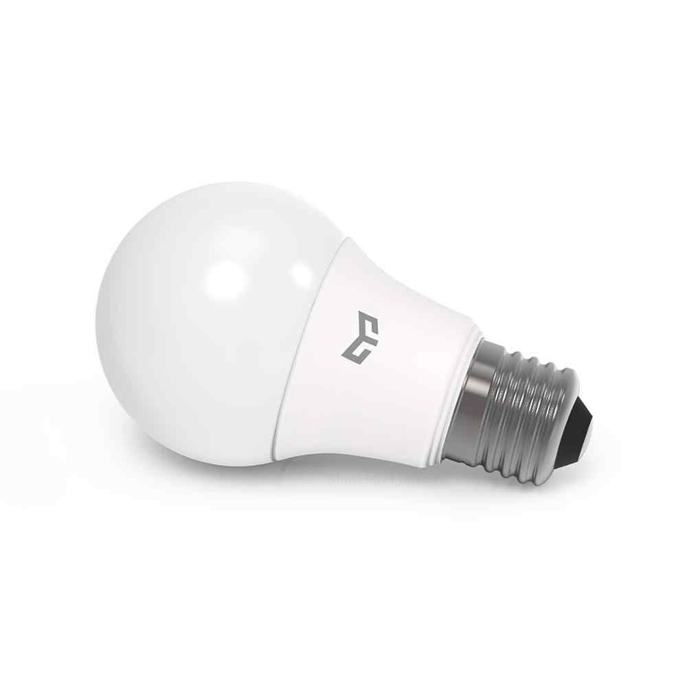 XIAOMI MIJIA Yeelight הנורה LED אור נורות E27 לבית חכם תקרת אור נברשת 7W 9W מיטת שולחן מנורת רצפת מנורת נורות