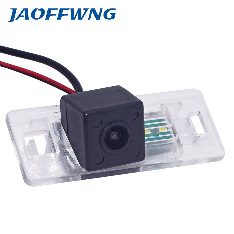Fotocamera Per Targa a LED,Telecamera di backup Visione notturna di retrovisione Parcheggio Telecamera di retromarcia Impermeabile