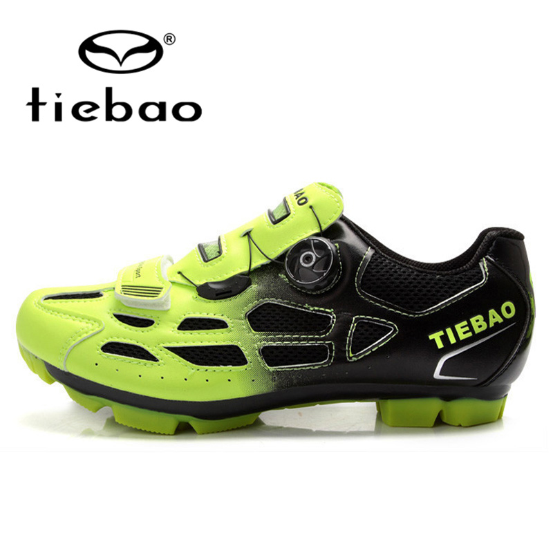 TIEBAO Professional MTB Mountain Bike Shoes Bicycle Cycling Shoes Men Women Self-Locking Sports Shoes zapatillas clismo