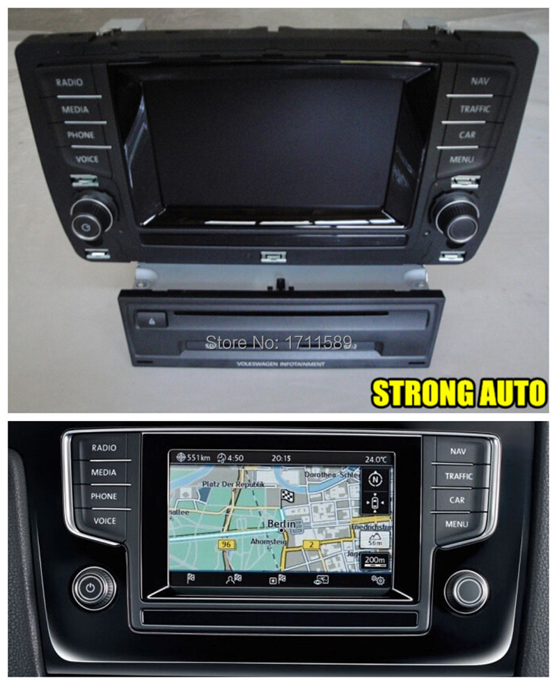 vw golf mk 7 discover media pro navigation system discover media dab golf 7 original 5 8 inche. Black Bedroom Furniture Sets. Home Design Ideas