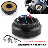 Aluminum Steering Wheel Hub Adapter Boss Kit for Honda for Civic 1992 1995 for Integra 1994 2001