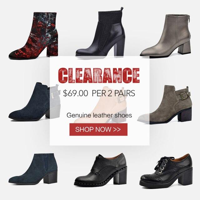 Распродажа, Donna-in, ботильоны для женщин, натуральная кожа, высокий каблук, острый носок, модные ботинки, женская обувь, женские ботинки