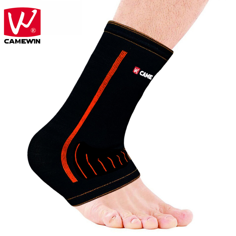 CAMEWIN Brand 1 P High Elastic Bandage Compression Knitting Sports Protector Basketball Soccer Ankle Support Brace Guard