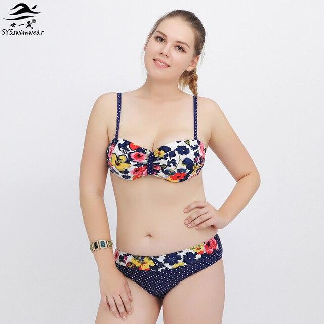 Lady Retro Swimwear Robe Maillots De Bain,4-8XL