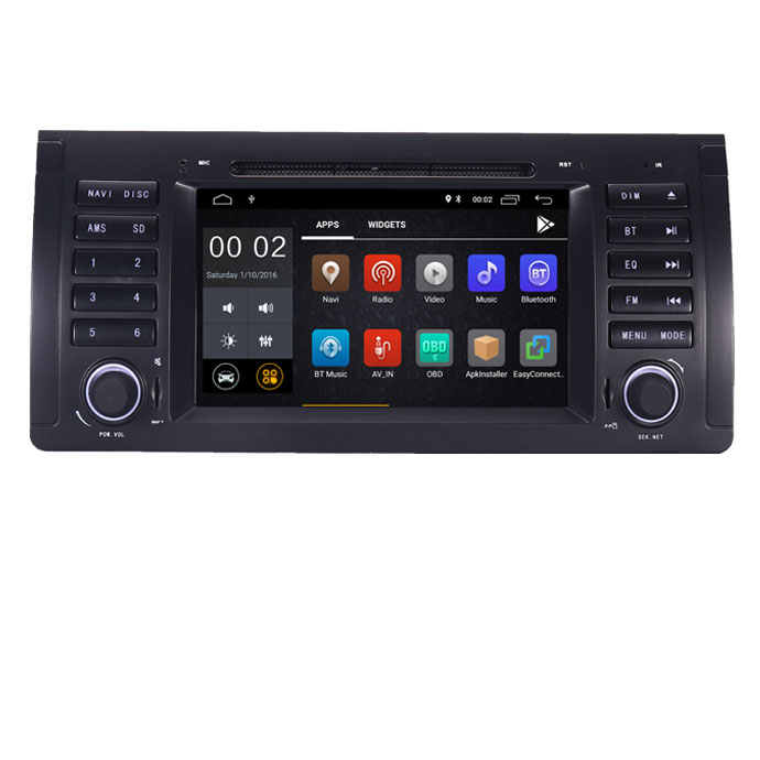 In Stock 7HD IPS Android 9.0 Car radio dvd for BMW E53 X5 GPS Navigation with Wifi 3G Bluetooth Radio Steering wheel Control