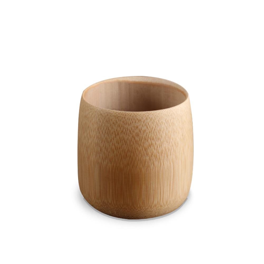 Drinkware Beer Mug Vintage Home Coffee Milk Natural Bamboo Drinking Tea Juice Office Water Cup Gift Leakproof Wine