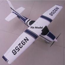 RC Хобби Самолет Большой Cessna 182 epo RTF готов к полету без батареи хорошо для начинающих