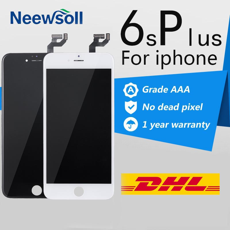 5pcs Lot AAA 5 5 inch Glass Touch LCD Screen Assembly Replacement For Apple iPhone 6