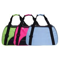 Outdoor Portable Dog Carriers Breathable Cat Dog Carring Bags Soft And Collapsible Pet Puppy Travel Bags