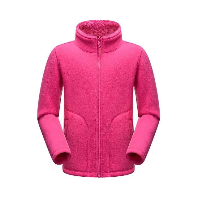 Новое прибытие осень детская марка толстовка куртка плюс флис весна пальто высокого качества мальчики девочки одежды на открытом воздухе