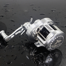 цена на RG Surfcasting Drum Reel  Saltwater Fishing Pesca 6.2:1 9+1BB Baitcasting Saltwater Sea Fishing Reels Bait Casting  Drum Reel
