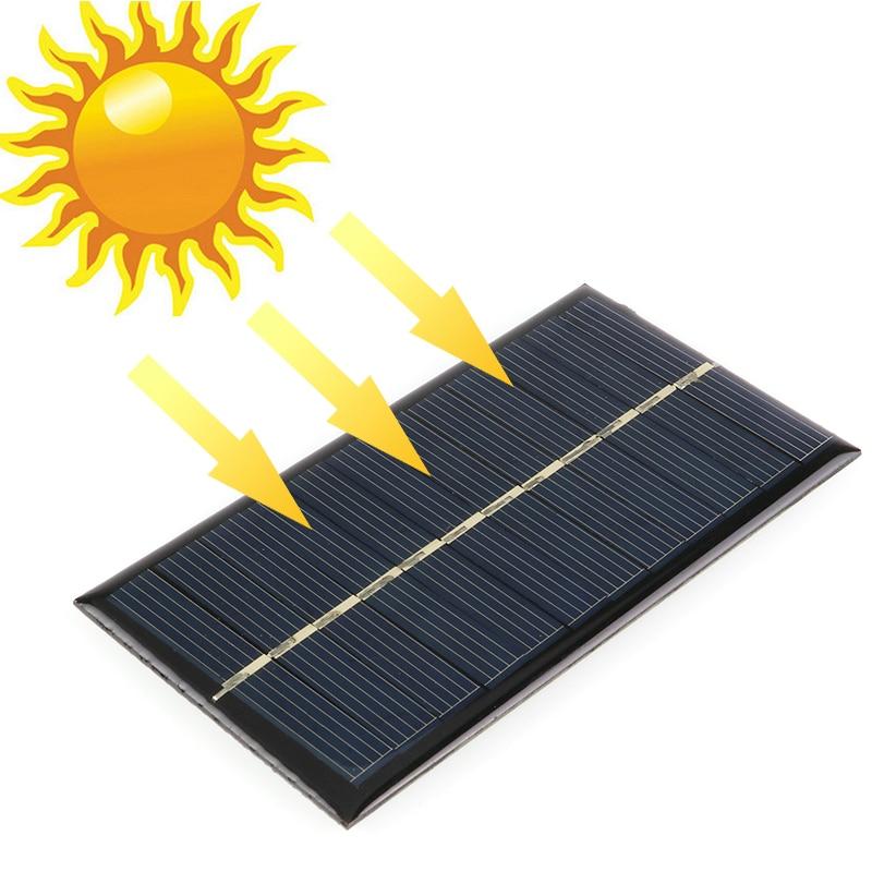 Baterias Solares banco de potência lanterna 110*60mm Número de Células : 1 X Solar Panel