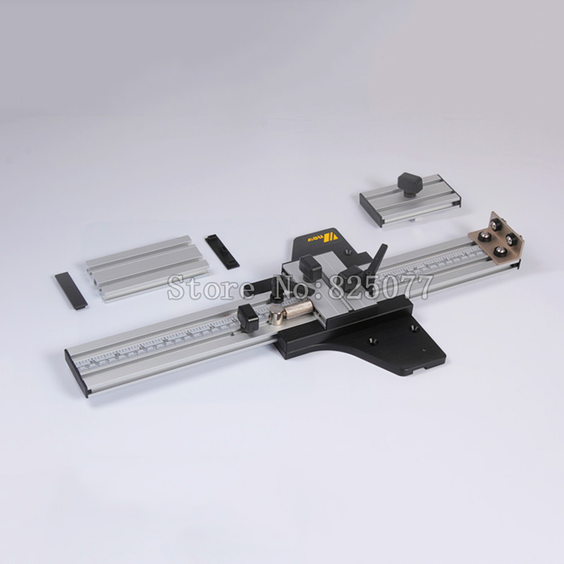 Woodworking DIY ccessories Engraving Machine Guide Rail Linear Slide Orbit for Engraving Straight and Round JF1123