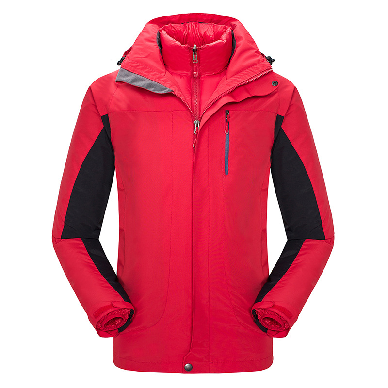 Здесь продается  NIUMO New Outdoor clothing Men and women with two-piece Down jacket Ski-wear, The wind warm overalls  Hiking Down  Спорт и развлечения