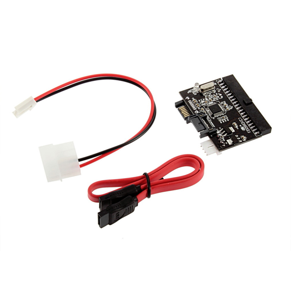 1Pc 2 in 1 SATA to IDE Converter / IDE to SATA Adapter Converter for DVD/ CD/ HDD Wholesale Drop Shipping