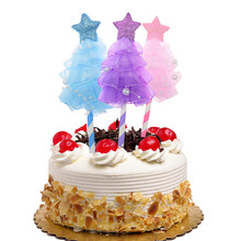 20pc Cake Toppers Flags Star Dress Happy Birthday Glitter Cupcake Topper Wedding Bride Kids Party Baby Shower Baking DIY