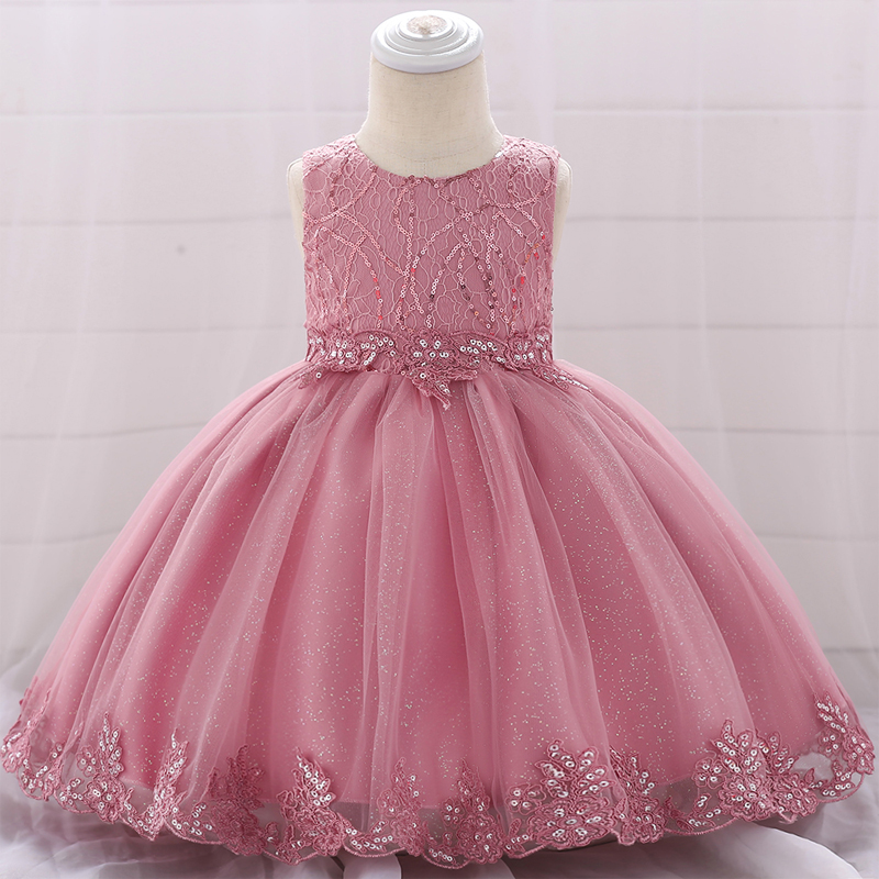 Baby Girls Dress Kids Toddler Princess Party Summer Floral Dresses 6-24 Months