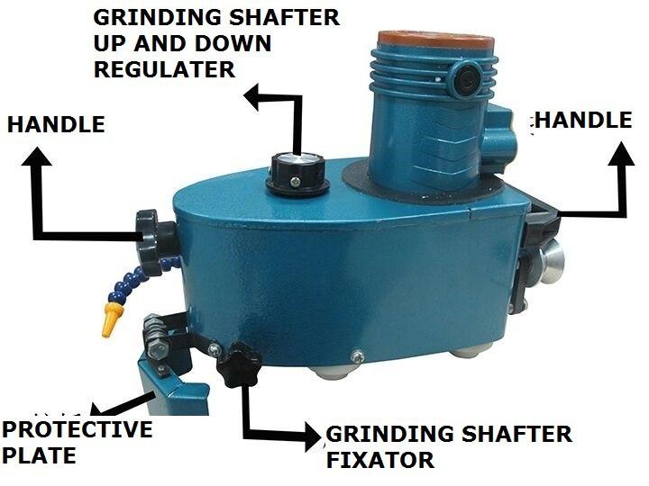 Grinding machine 1