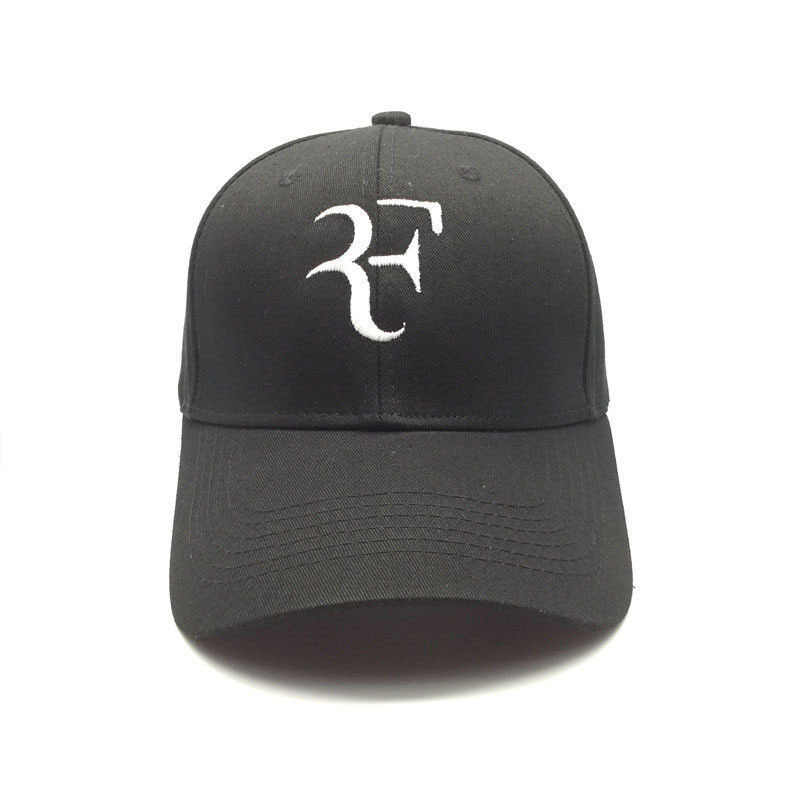 3D Embroidery Unisex Baseball Cap Tennis Star Roger Federer Dad Hat For Men Women Sport Cotton Snapback Caps Tennis hat F Hats