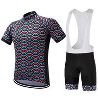 2017 para o verão bib ciclismo jeresy define men ropa de quckly seco conjunto de mountain bike jérsei ropa ciclista whit 9d almofada