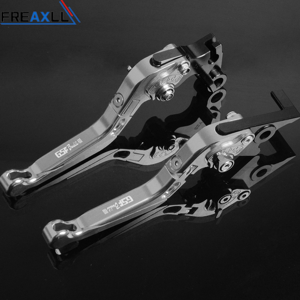 For Suzuki GSF600 BANDIT GSF 600 Bandit 1995 1999 CNC Aluminum Motorbike Brake Clutch Levers Foldable Extendable Adjustable in Levers Ropes Cables from Automobiles Motorcycles
