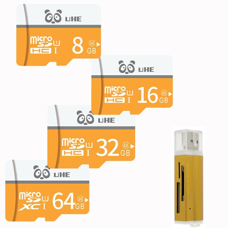 Micro SD 32GB Memory Card 64G Cartao De Memoria 16GB 8GB 4GB Flash Microsd Tf Carte With Card Reader Mini Gifts