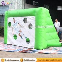 Vendita diretta della fabbrica 3X2X2 M ripresa gate per il divertimento Gonfiabile soccer goal di calcio calcio calcio giochi per i bambini giocattoli all'aria aperta