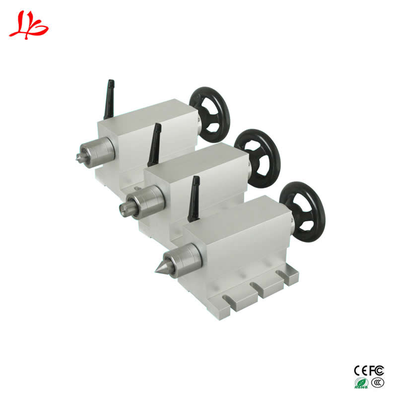 CNC activity Tailstock Chuck 50mm for Rotary Axis A Axis 4th Axis CNC Router Engraver Milling Machine cnc milling machine part rotational a axis 80mm 3 jaw chuck