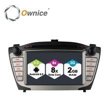 Ownice c500 android 6.0 octa 8 core vídeo del coche para hyundai ix35 tucson coches reproductor de dvd con 4G GPS Radio de coche BT 2 GB RAM 32 GB ROM