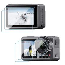 Screen-Protector Camera-Accessories Lens-Screen Osmo Action Tempered-Glass-Film for DJI