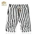 Striped Knee Length Elastic Waist Male Big Size 5XL 4XL 3XL Summer Short Homme Bermuda  Moda Praia Men Short Pants