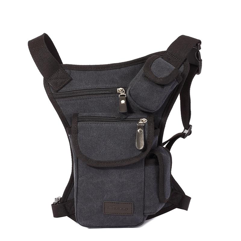 Trgovina na debelo moške pasu torbice vintage platnene - Torbice - Fotografija 1