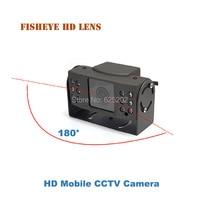 Fisheye Mini Veículo Móvel AHD 720 P 1.0MP Vigilância CCTV Câmera de Segurança para o Carro|security cctv camera|cctv camera|cctv camera for car -