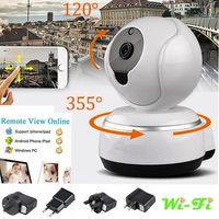 Sem fio Pan Tilt 720 P HD de Segurança CCTV Rede IP Câmera Night Vision CAM WIFI