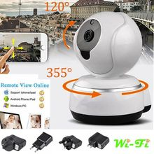 Wireless Pan Tilt 720P HD CAM Security Network CCTV IP Camera Night Vision WIFI