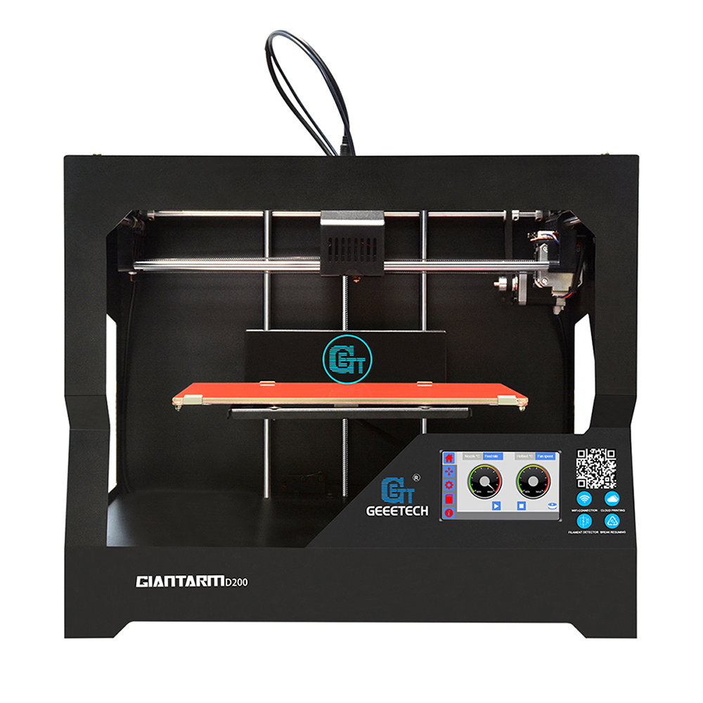 10 PCS Full Assembled Smart 3D Printer Wifi 3D Printing App 4.3Color Touch Screen 300x180x180mm Break Resume Filament detector 2012 full color 180 pages printing catalog of chef essentials