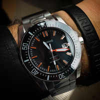 Parnis Racing Seriers Auto Date Sport Classic Mens 200M Water Resistant Automatic Self Wind Mechanical Wrist Watches