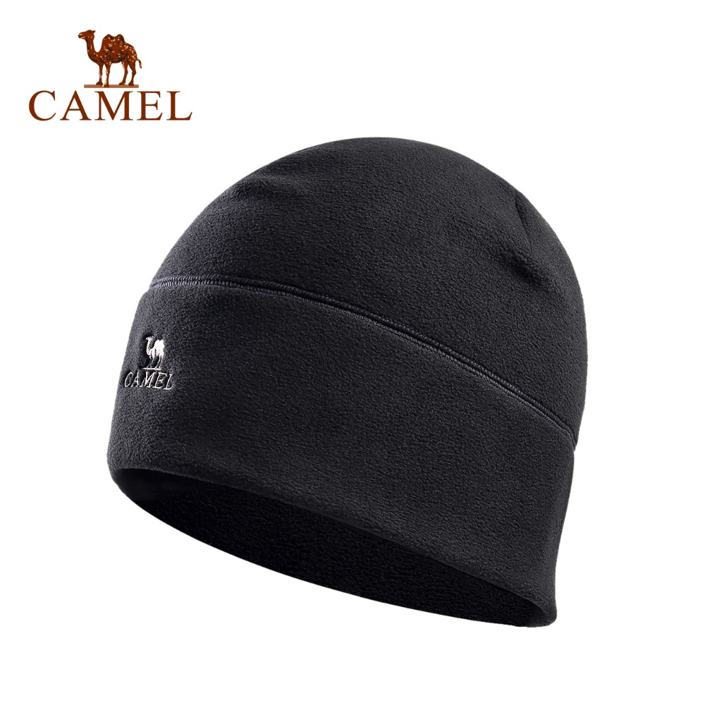 CAMEL Unisex Outdoor Fleece Hat Ultralight Winter Warm Thermal Windproof Hat Hunting Ski Cap womail delicate unisex slouchy oversize winter warm braided beanie cap warm winter hat w7