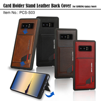 Pierre Cardin Genuine Leather Case Slim Card Holder Stand Flip Leather Sofe Back Cover Case For