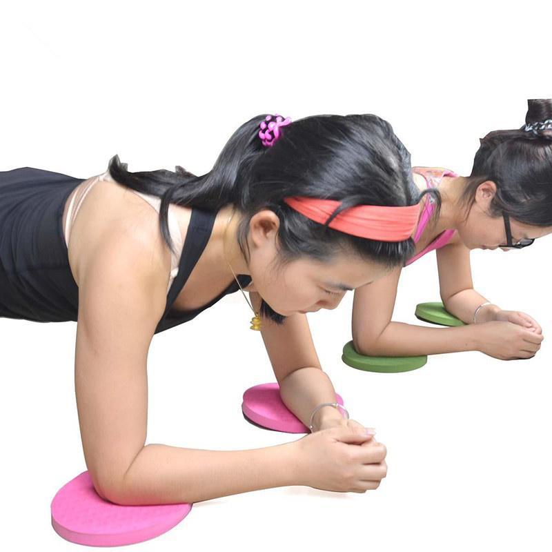 Yoga Movement Protection Elbow Knee Elbow 2pcs Pad Yoga Mat Protection  Core-strengthening Plank Mats Yoga Blocks T