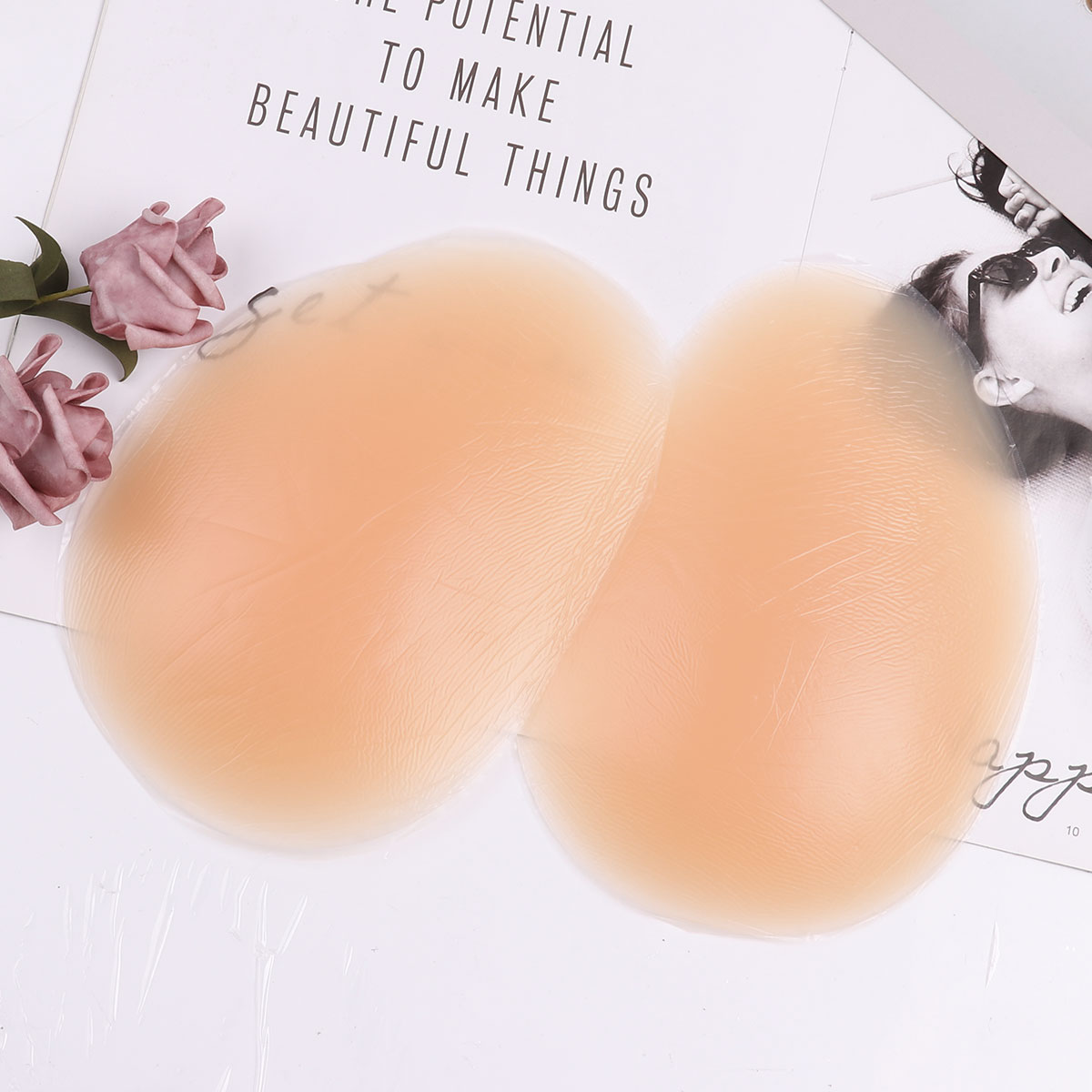 TiaoBug 1 Pair Of Sexy Buttocks Comfortable Enhancers Inserts Lifter Contour Push Up Shapers Women Removable Silicone Butt Pads