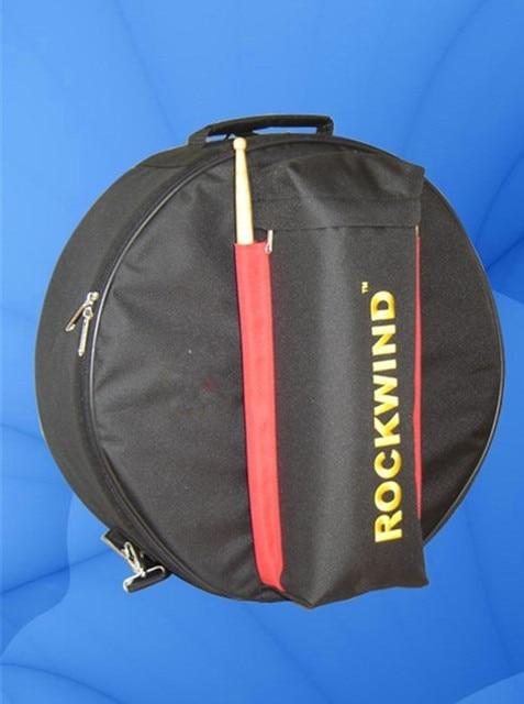 "Professional Portable 14""Snare drum package bag cover box Dumb drum shoulders backpack black Carrying Case Drums Instrument Gig"