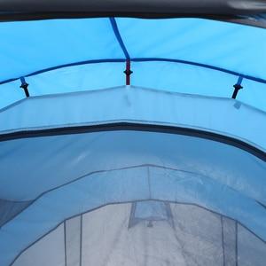 Image 5 - Hồi LINGYANG Ném Bật Lên Lều 4 6 Người Ngoài Trời Tự Động Lều Hai Lớp Lớn Họ Lều Chống Nước Cắm Trại đi Bộ Đường Dài Lều