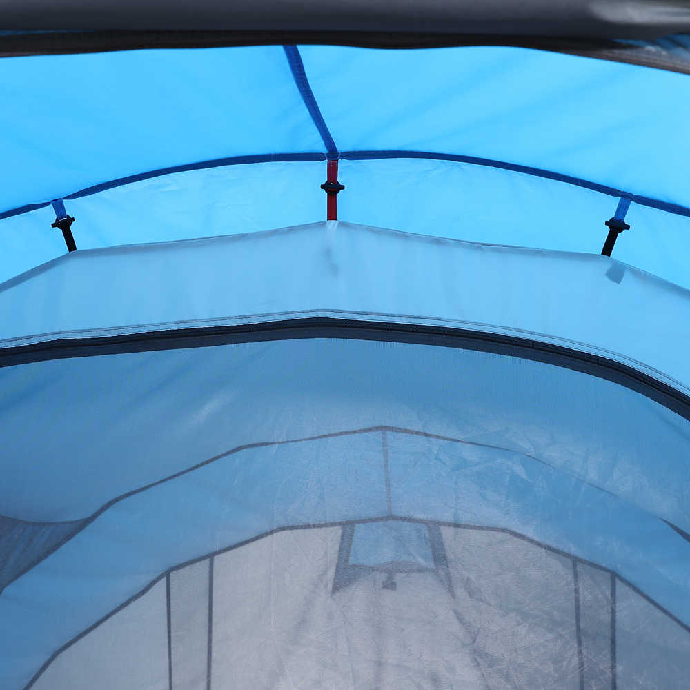 هوى LINGYANG رمي خيمة منبثقة 5-6 شخص في الهواء الطلق التلقائي الخيام طبقات مزدوجة كبيرة خيمة عائلية مقاوم للماء التخييم خيمة صغيرة للمعسكرات والشواطئ يمكن حملها في شنطة اليد