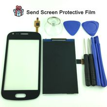 For Samsung Galaxy Trend Plus S7580 S7582 White Black Touch Screen Panel Sensor Lens Glass LCD