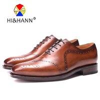 Italia Goodyear Craft натуральной телячьей кожи Для мужчин обувь ручной работы на шнуровке Для мужчин; торжественное платье свадебные туфли три цвет
